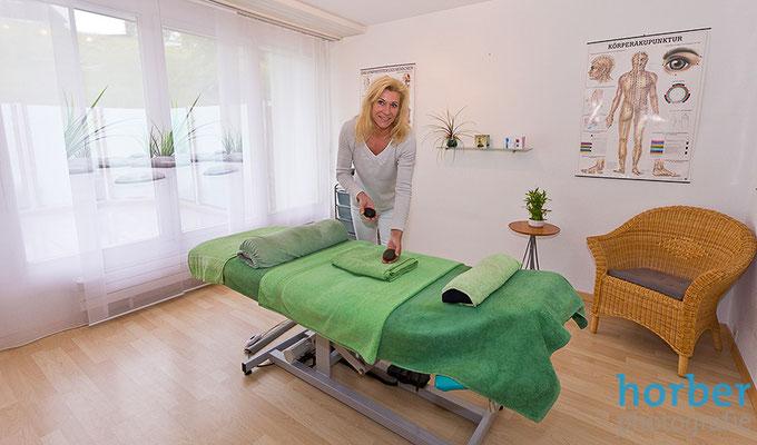 Massagepraxis Gesundheitsmassage fotografiert von Matthias Horber horber marketing