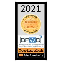 Siegel Werbetexter BPWD 2021