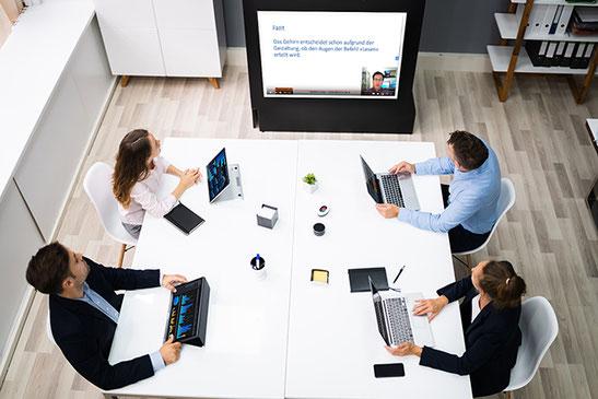 Online Seminar mit Unternehmen - horber marketing