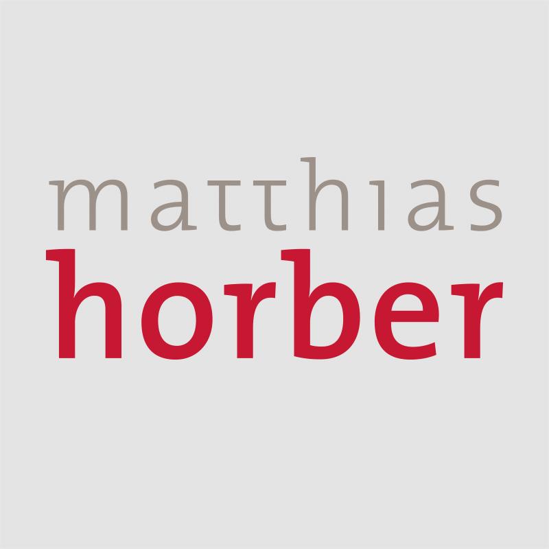 Logo Matthias Horber grau