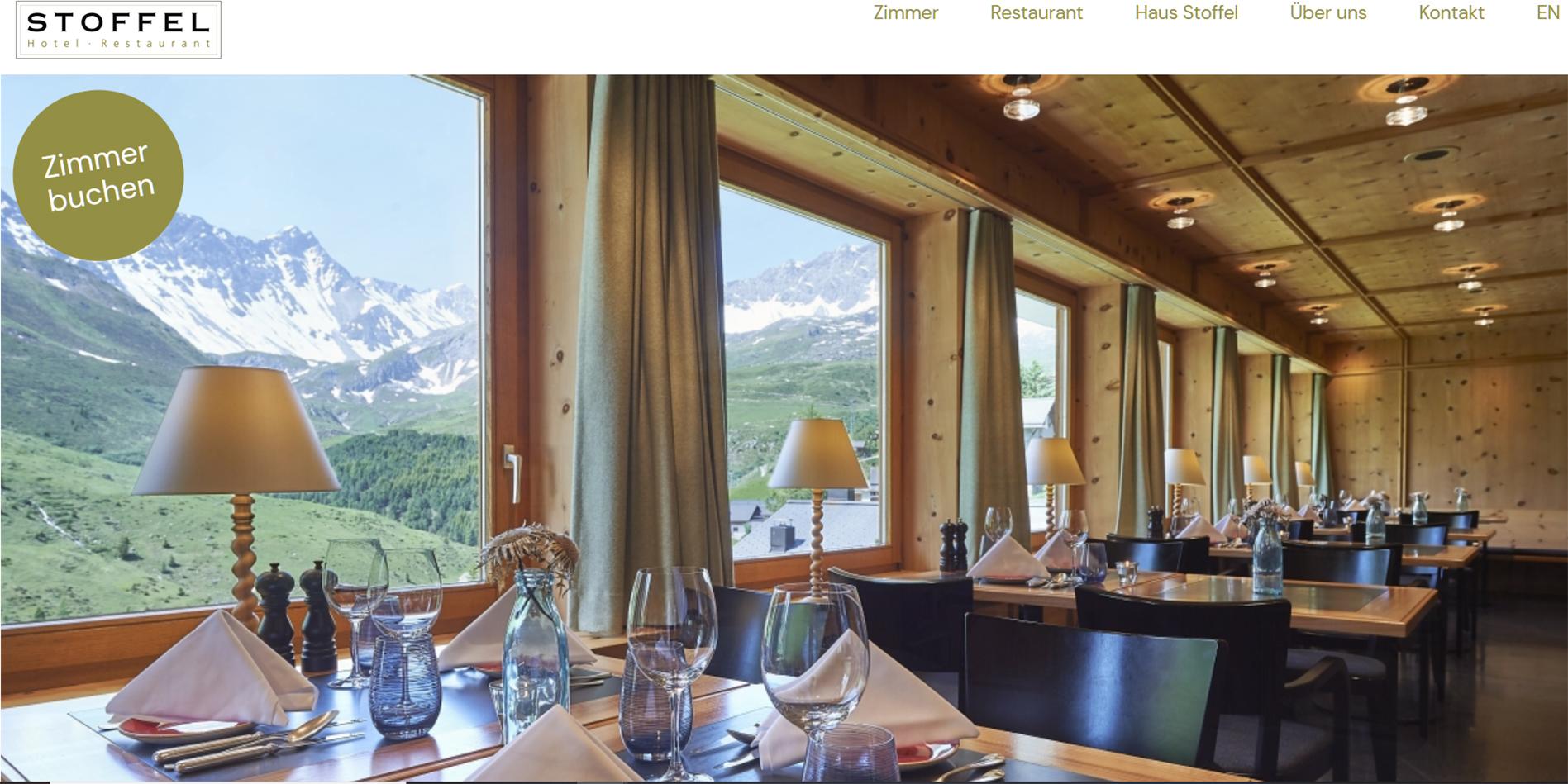 Homepage Hotel Stoffel