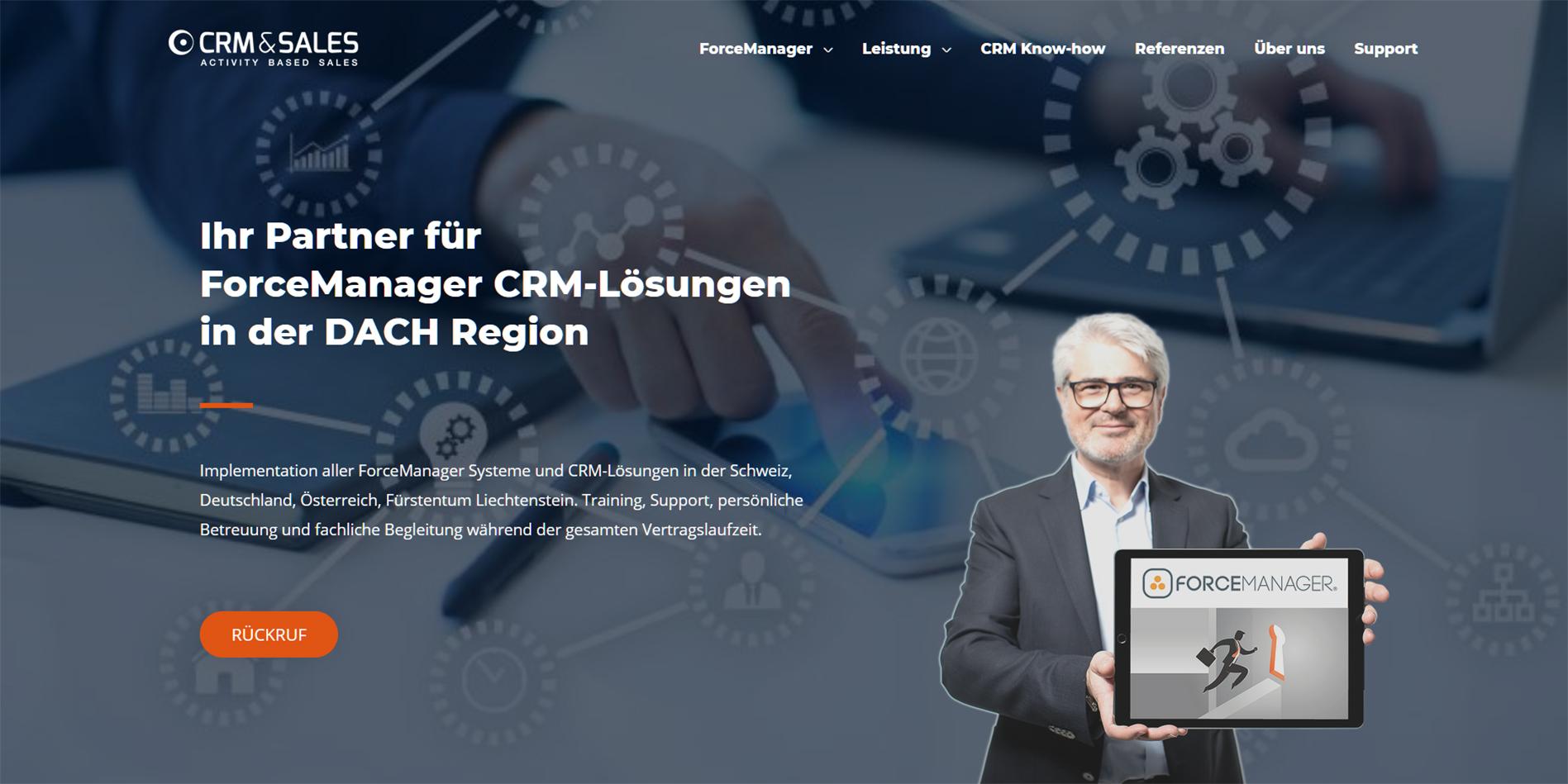 Website CRM&SALES