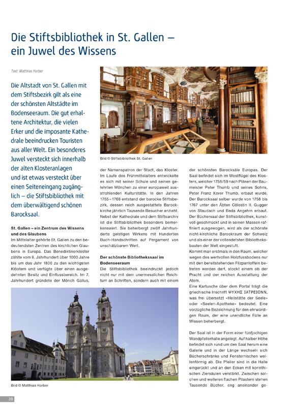 Vorschaubild Reportage Stiftsbibliothek St. Gallen